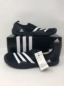 Adidas Climatology JAWPAW Slip On M29553 Black/White Mens Water Shoes US 12