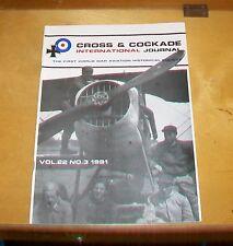 CROSS & COCKADE GREAT BRITAIN JOURNAL VOL 22  No 3 1991 AERONAUTIQUE MILITAIRE