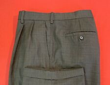 MONDO  DiMARCO ... Brown  Pleats  Cuffs  Dress  Pants ... Size  38 x 30