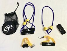 New listing ATHLETIC WORKS Exercise Resistance Training Toning Bungee Bands Ropes
