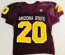 VTG 90's Champion Arizona State Sun Devils Player Cut Football Jersey Size 44