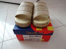 scarpe sandali donna ragazza usate numero 37 colore beige zeppe