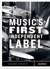 """Jack Daniels """"independAnt Label"""" Poster. New 18 By 26"""