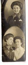 Victorian Fashion Bouffant Hairdo Girls Women Frends Photo Strip Photos
