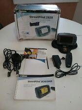 GARMIN StreetPilot 2620 GPS, Bundled with Dash Mount, Speaker Charger, Remote