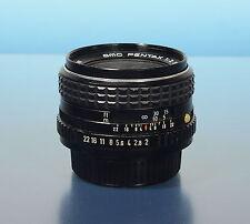 Pentax SMC 55mm/2.0 Objektiv lens objectif für Pentax K - (40319)