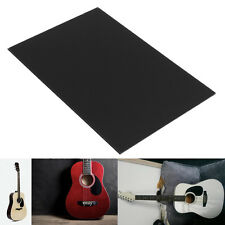 29x43cm 1-Ply Electric Guitar Bass Pickguard Blank Material Black Plate Shell