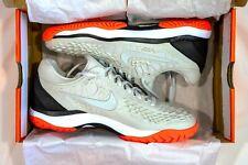 New Nike Air Zoom Cage 3 Men's Shoe Size 7 Light Bone Hot Lava Tennis Shoes
