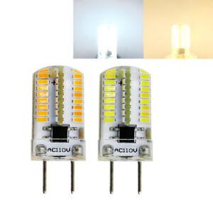 10pcs G8 G8.5 T5 Led Light Bulb 64-3014SMD 110V 3W Lamp Equivalent 20W-35W #H