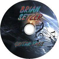 BRIAN SETZER BASS &GUITAR TAB CD TABLATURE GREATEST HITS BEST OF ROCK MUSIC POP
