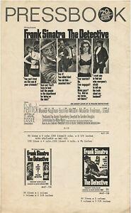 Original PB • THE DETECTIVE • 1963 • FRANK SINATRA • AIP • Uncut • Complete
