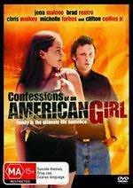 CONFESSIONS OF AN AMERICAN GIRL - JENA MALONE COMEDY NEW DVD MOVIE SEALED