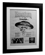 BOSTON+More Than Feeling+POSTER+AD+RARE ORIGINAL 1977+FRAMED+FAST GLOBAL SHIP