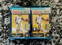 ✔️ 2019-20 NBA Hoops Premium Stock Hanger Box - Brand New Sealed - LOT OF 2 ✔️