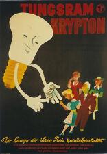 Original Plakat - TUNGSRAM KRYPTON