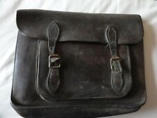 1940's leather schoolbag.(1 owner)