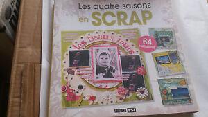 Les quatre saisons en scrap - Collectif - Editions ESI