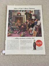 Vintage 1944 Coca Cola Coke Ad
