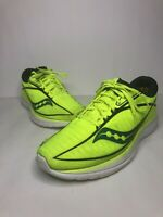 Saucony Men's Kinvara 10 Running Shoe Style S20467-37 Citron Teal Size 10 M