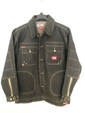 Ecko Unltd. Men's WRKSHP Denim Black Jacket
