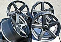 "18"" PDW C SPEC 2 ALLOY WHEELS GUNMETAL CONCAVE STAGGERED 5X120 18 INCH WHEELS"