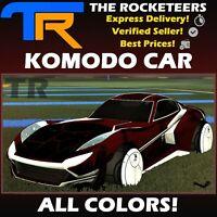 [PC] Rocket League Every Komodo Exotic Battle-Car Titanium White Lime etc.