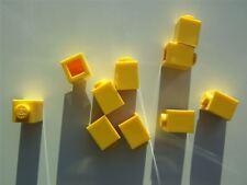 10 x Lego Yellow square brick (size 1x1x1) - 300524 (Parts & Pieces)
