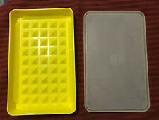 EUC Tupperware Lunchmeat/Cheese Keeper Yellow 1292-8