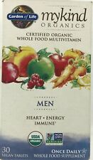 Garden Of Life Mykind Organics Men One A Day Multivitamin Vegan Tablets, 30 Ct