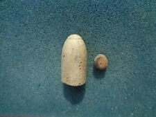 .58 Cal Civil War Confederate Cap Nose Enfield Bullet with plug Fort Fisher, NC