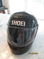 Vintage early 1970's Shoei full face RF-R Elite Series motorcycle helmet sz. L