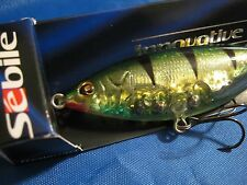 SPECIAL PRICE  Sebile Stick Shadd Floating 90PV Perchy NIP Shad Topwater