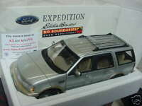 1:18 SCALE SILVER FORD EXPEDITION SPECIAL LIMITED EDITION EDDIE BAUER