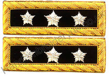 Civil War Lieutenant General Shoulder Boards