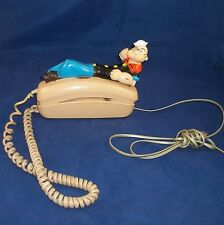 Vintage  Popeye the Sailor Novelty Trimline phone GTE ITT