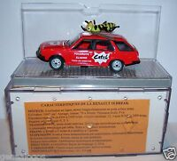 OLD NOREV RENAULT 18 GTS BREAK R18 CATCH TOUR DE FRANCE 1979 1/43 in BOX bis