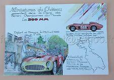 PG Miniature château Certificat authenticité FERRARI 290 MM Millle 548 1/43 Heco