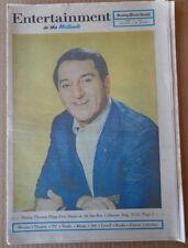 ENTERTAINMENT M31 1970 Newspaper DANNY THOMAS-Neil Diamond-DANA ANDREWS-Welk