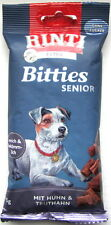 Rinti Bitties Senior Snack mit Huhn & Truthahn 16 x 75g *12,49 € pro kg*
