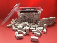 140 Modellbausteine in der Box für Dein Wüstenterrarium - Dekoration Rückwandbau