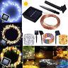 50-100 LED Solar Power Fairy Lights String Lamps Party Xmas Deco Garden Outdoor