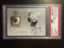 2005-06 Ultra Difference Makers Sidney Crosby Rookie RC #DM6 PSA 10