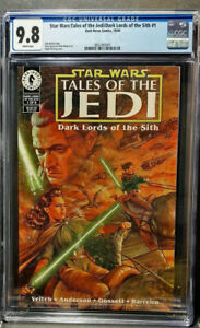 Star Wars:Tales of the Jedi/Dark Lords of the Sith 1    CGC  9.8 NM/M   W/Pages