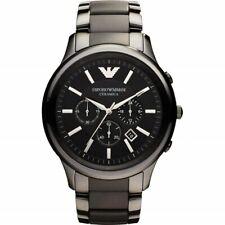 Emporio ARMANI Mens AR1451 black ceramic Mens Quartz Watch