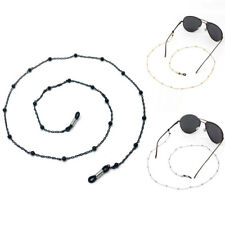 1PC Sunglasses Spectacles Metal Eyeglass Chain Glasses Strap Bead Necklace gift
