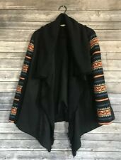 Rip Curl Embroidered Sleeve Shawl Jacket Womens Size Medium