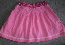 EUC Girls Sz 5 Land's End Kids Bubblegum Pink Cotton Knit Skort Elastic Waist