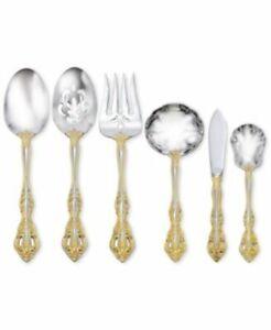 ONEIDA GOLDEN MICHELANGELO 4 - Piece Gold Accented Serving Set