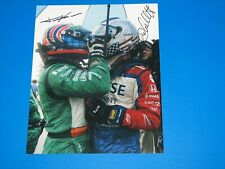 MARCO ANDRETTI & TONY KANAAN INDYCAR DRIIVERS SIGNED 8X10 PHOTO coa INDY 500