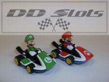 DD Slots Carrera GO!!! Mario Kart Mario & Luigi Pair 1.43 Scale - NEW - 21580
